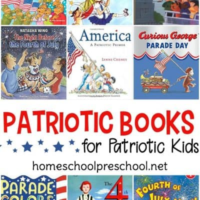 Patriotic Picture Books for Preschoolers