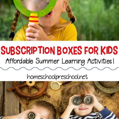 5 Summer Subscription Boxes for Kids
