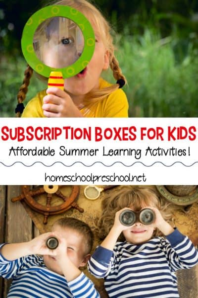When kids get bored, it can seem like the house has flipped upside down. These subscription boxes for kids will keep kids entertained (and learning) all summer!