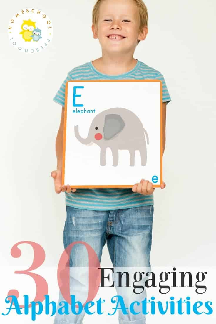 Each one of the activities featured will help teach, reinforce, or review the letters of the alphabet. Many focus on beginning sounds, as well.