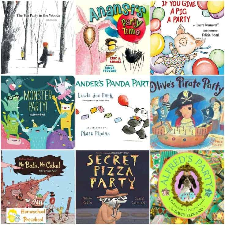 9 of Our Favorite Children's Books about Parties