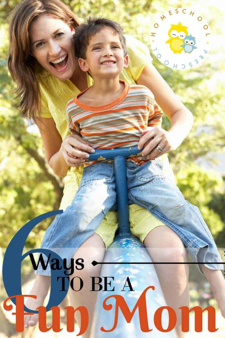 Even if you like routine and structure, you can still be the fun mom! It's time to loosen the reigns a bit, and spend quality time with your kids.