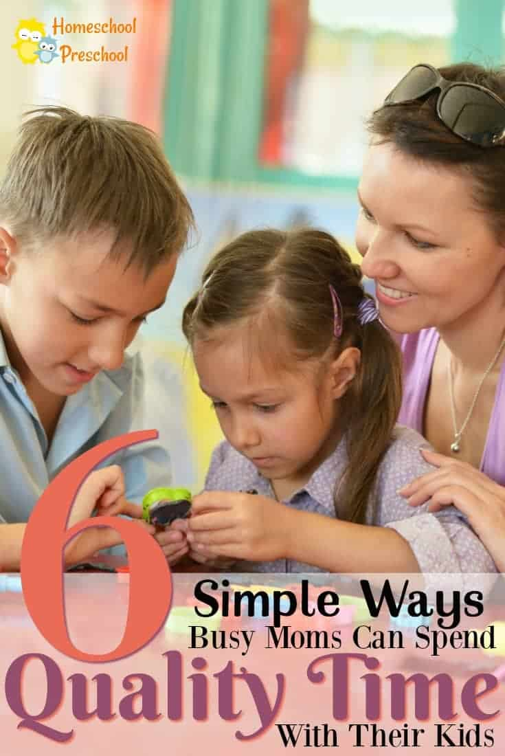 If you are needing to spend some good quality time with your kids, here are a few ways you can do that! These six suggestions are not only fun but frugal!