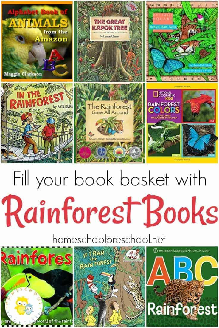 18 Amazing Rainforest Animals Books for Preschoolers