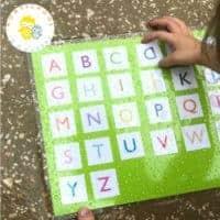 3 Backyard Matching Games for Preschoolers