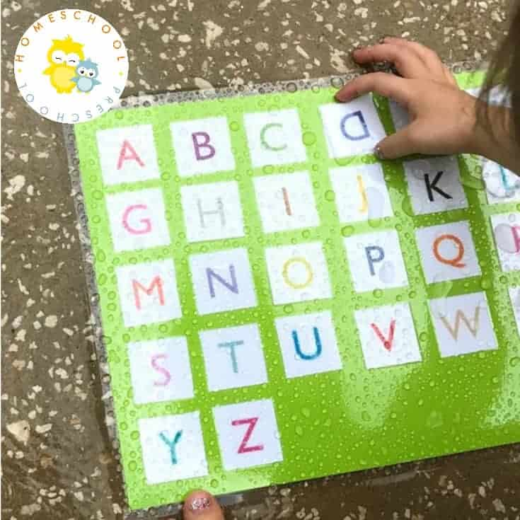 3 Backyard Matching Games for Preschoolers