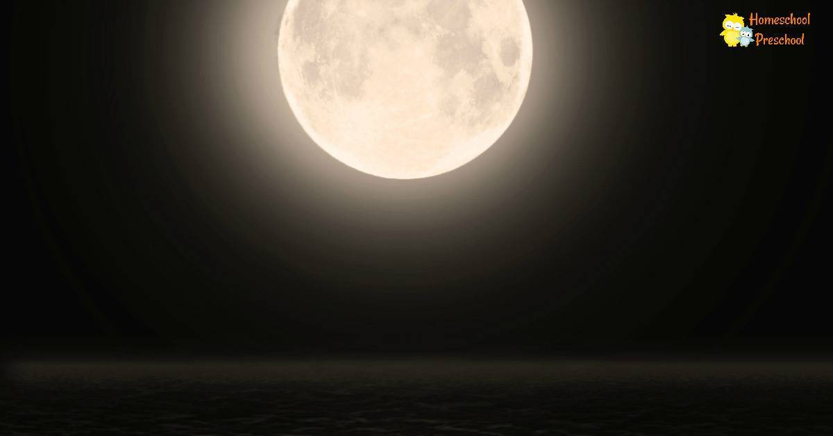 Have you ever celebrated Moon Day with your preschoolers? If not, it's a fabulous day to set aside time to study the moon!
