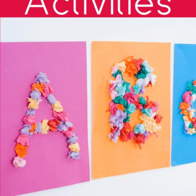 30 Alphabet Activities for Preschoolers