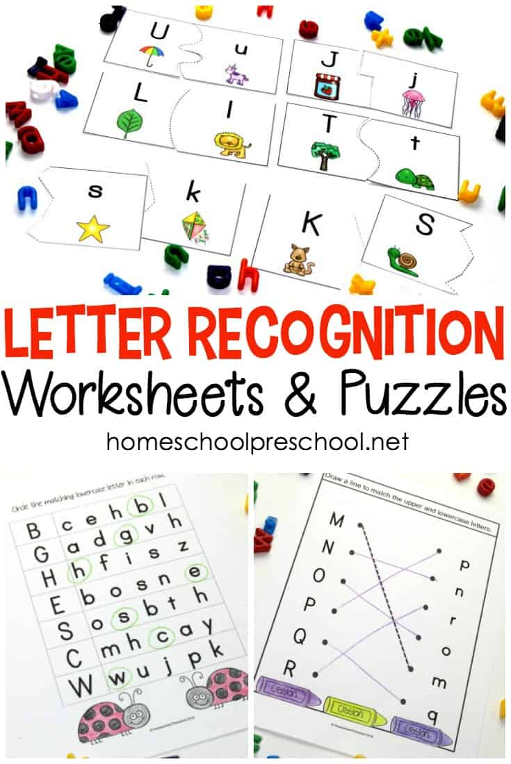 Alphabet Printables For Your Homeschool Preschool