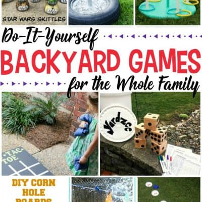 10 DIY Backyard Games for the Whole Family
