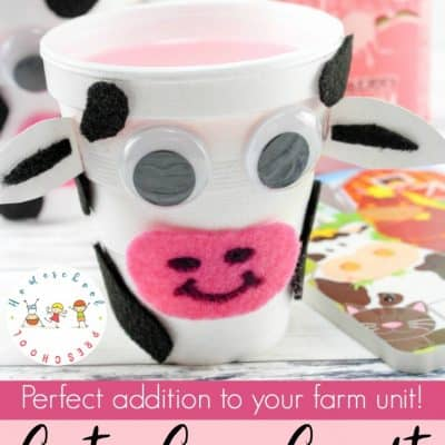 How to Make a Simple Cow Craft for Preschoolers