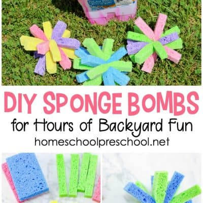 How to Make Sponge Water Bombs