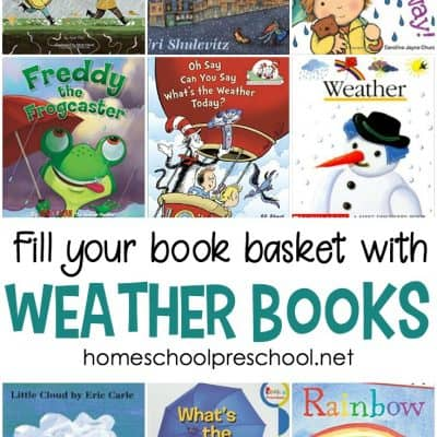 27 Wonderful Weather Books for Preschool and Kindergarten