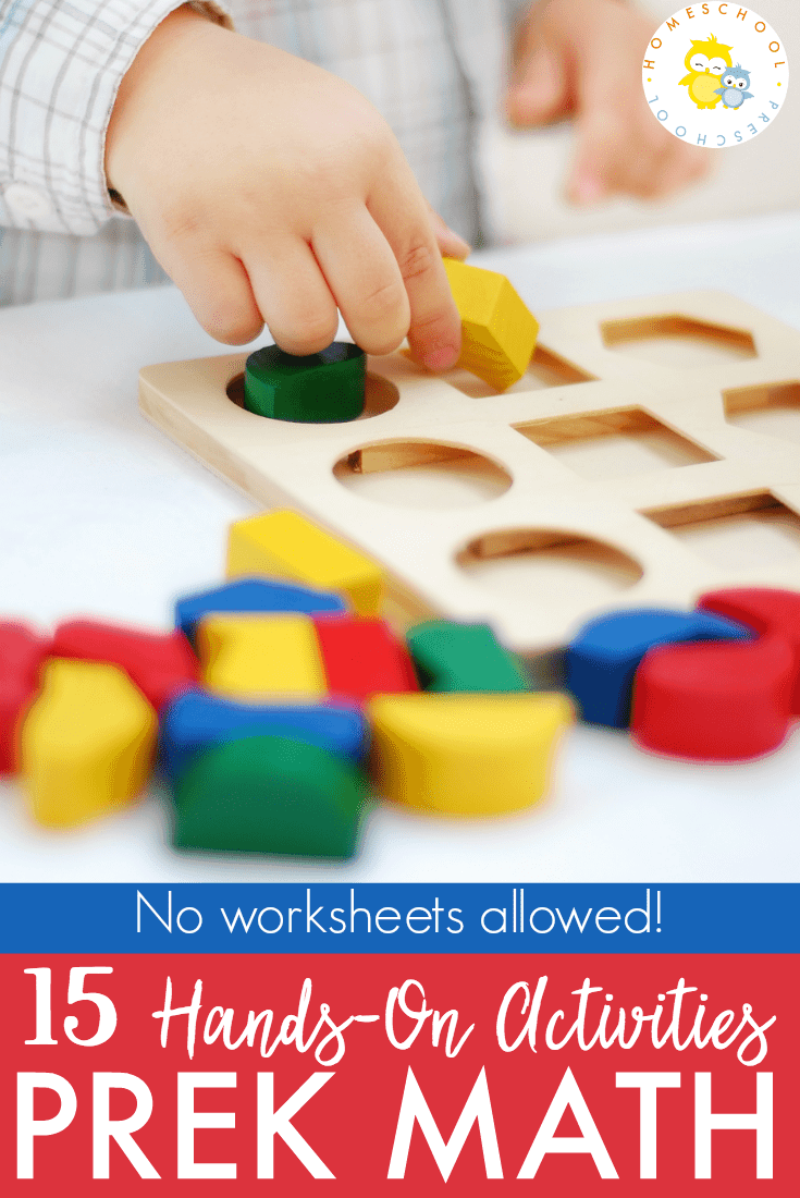 Teaching preschool math should be fun, engaging, and hands-on! You'd be surprised how quickly preschoolers can grasp a math concept when they're having fun!