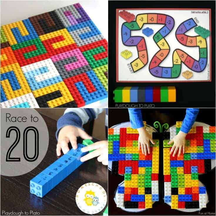 20 Amazing LEGO Math Ideas for Early Learners
