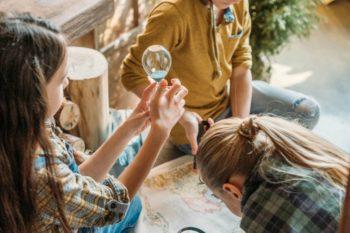 Send Preschoolers on an Easy Treasure Hunt