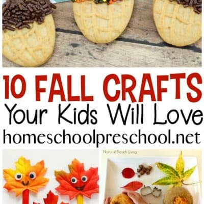 10 Fabulously Easy Fall Crafts for Preschool Aged Kids