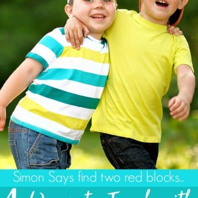 How to Play Simon Says with Preschoolers