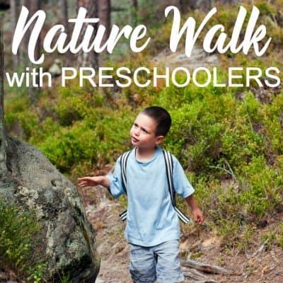 How to Prepare for a Preschool Nature Walk