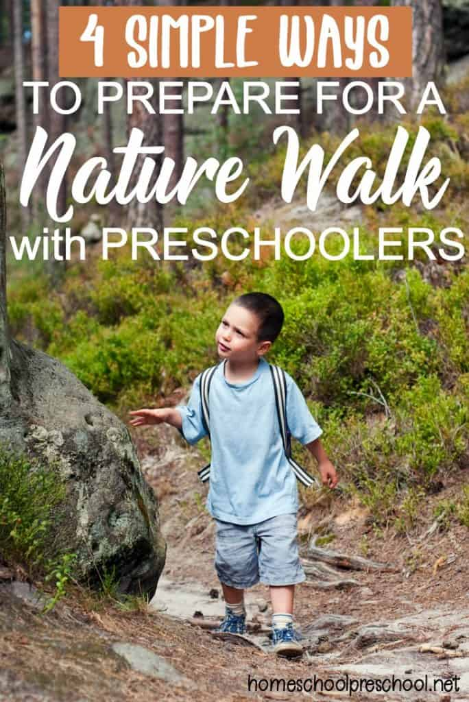 4 ways to prepare your preschooler for a nature walk. Black Bedroom Furniture Sets. Home Design Ideas