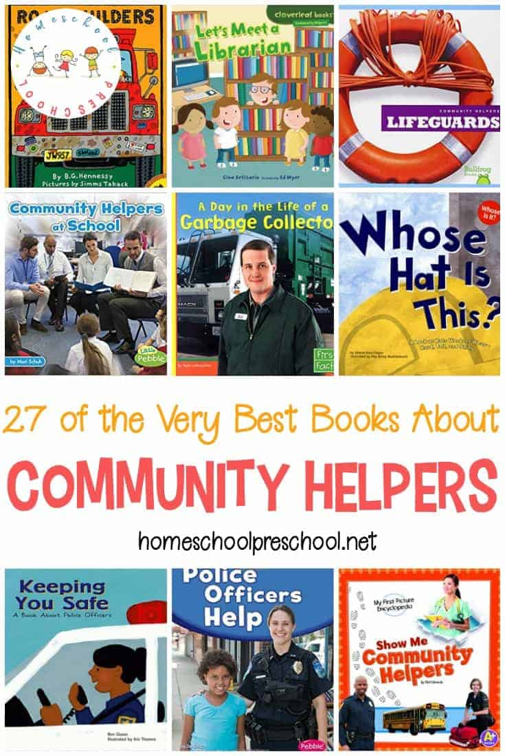 It's important for kids to learn about people who keep their communities safe. This collection of books about community helpers is the perfect introduction!