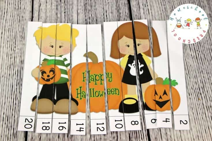 Is Halloween really just a few weeks away? Here's a fun Halloween printable activity pack for preschoolers. It features characters from my favorite Nutty gang!