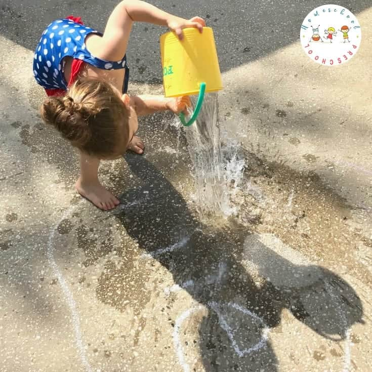 Teaching Sight Words with a Fun Water Play Activity