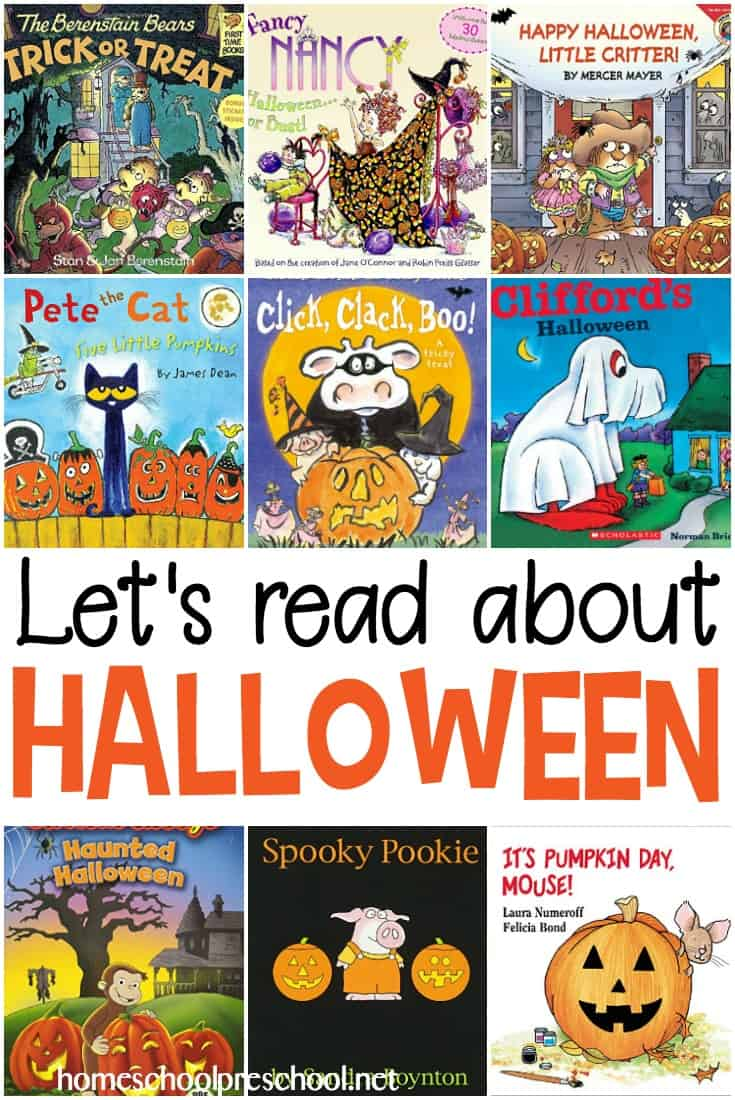 This October, fill your book basket with books from this list of the best Halloween picture books for preschoolers!
