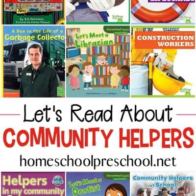 Community Helper Books for Preschool