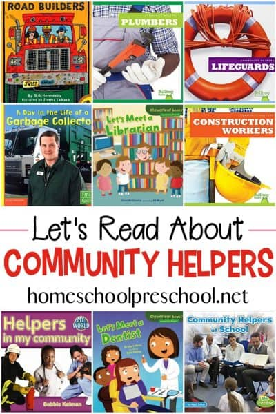 Community Helper Books for Preschool