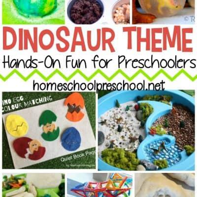 Dinosaur Preschool Theme Activities