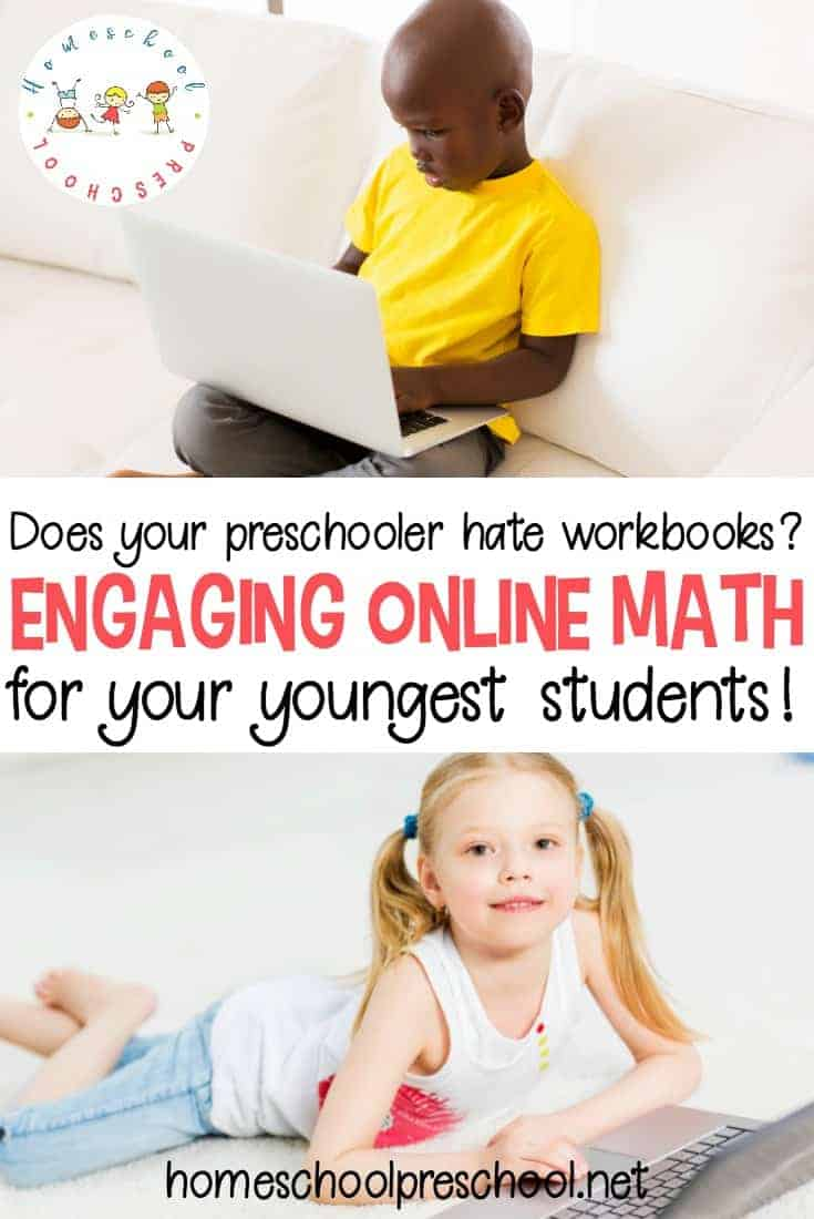 How can you teach preschool math to kids who hate worksheets? Try this amazing online preschool math program that is engaging AND fun!