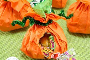 Candy Stuffed Pumpkins: A Simple Pumpkin Craft for Kids