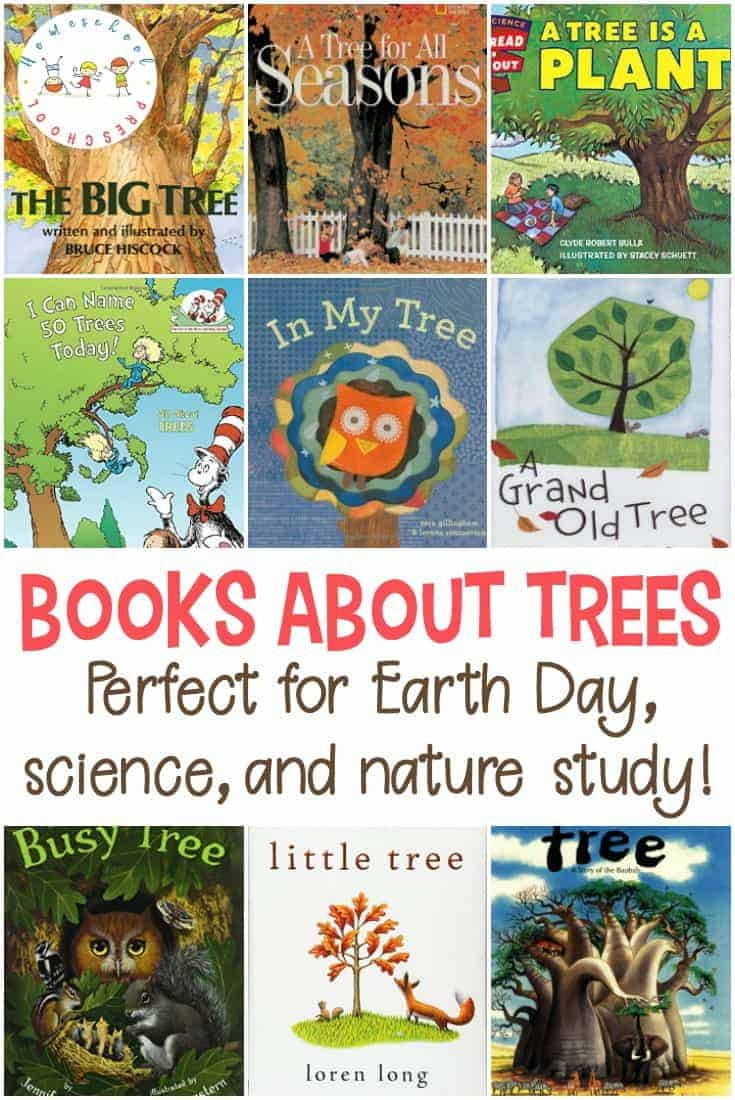 Whether you're studying trees, leaves, or life in the forest, this collection of picture books about trees is the perfect place to start your lessons.