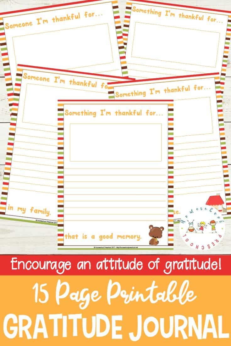 photo regarding Thankful Printable named Im Grateful: A Printable Graude Magazine for Children