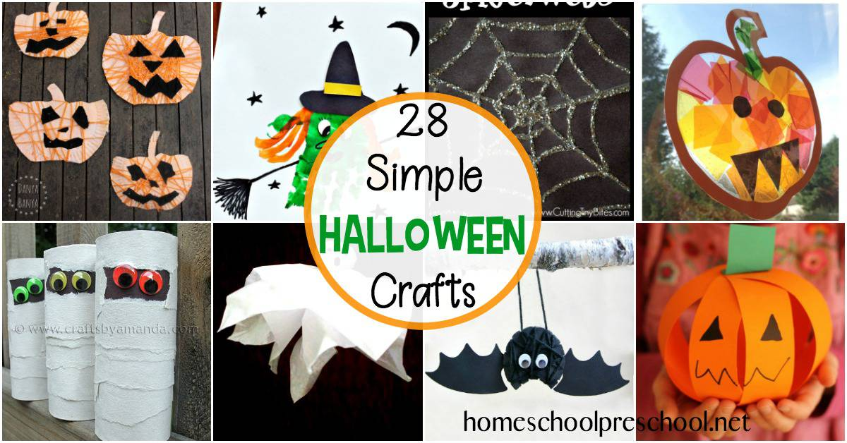 Check out this fun list of preschool Halloween crafts that your little one is sure to love.Many of these crafts use items you already have in your house.