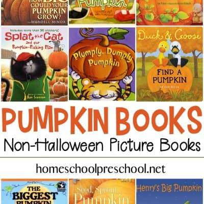 21 Non-Halloween Pumpkin Books for Preschoolers