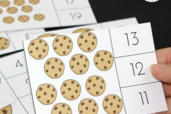If You Give a Mouse a Cookie Count and Clip Cards