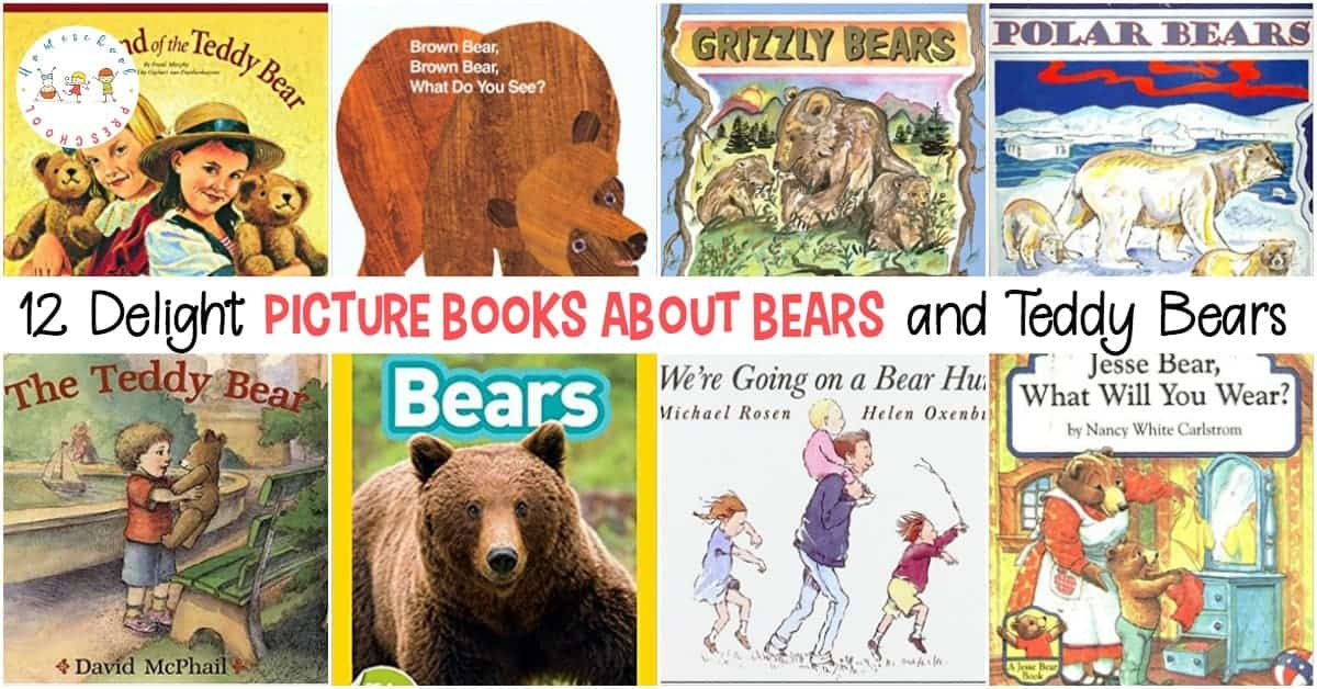 My kids can never read too many bear books. They love polar bears, grizzly bears, and brown bears. Here are 12 delightful picture books about bears!