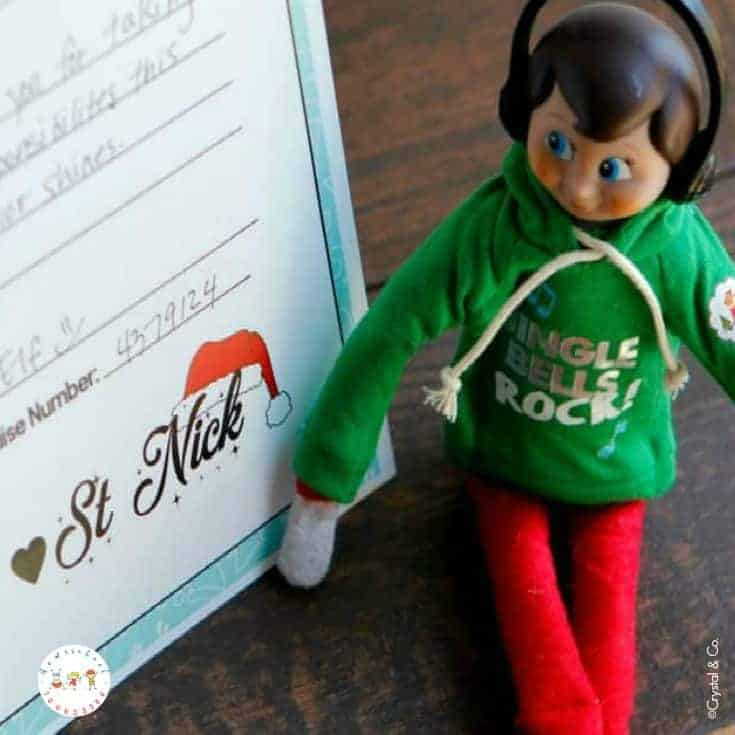 Doing Elf on the Shelf with preschoolers is so much fun! If you are looking for some quick Elf on the Shelf ideas, here are some to keep up your sleeve.