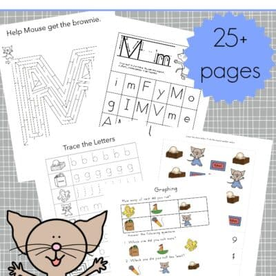 If You Give a Mouse a Brownie Printables