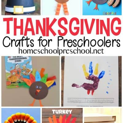 25 Super Cute Preschool Thanksgiving Crafts