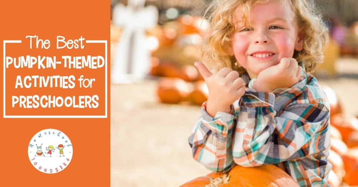 Temperatures are dropping, and it's time to turn our attention to pumpkins. These pumpkin activities for preschoolers will keep kids occupied all season long.