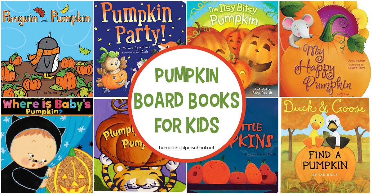 Enjoy the fun of autumn with these toddler pumpkin books. Fill your book basket with these board books that are perfect for little hands!