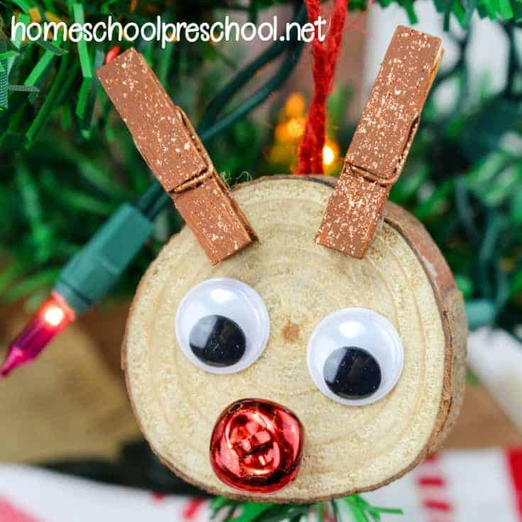 DIY Rudolph Ornaments Your Kids Will Love to Make