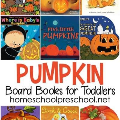 12 Toddler Pumpkin Books