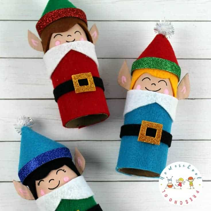 How to Make an Easy Elf Craft for Kids