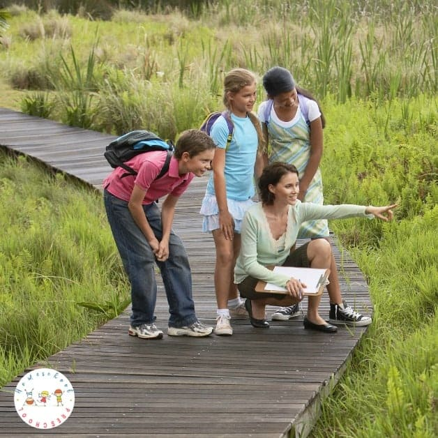 Have you noticed how preschoolers love being outside and learning about nature? Did you know that nature study is the perfect way to introduce science!