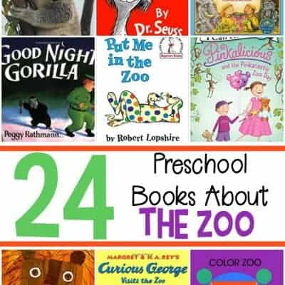 24 of Our Favorite Preschool Zoo Books