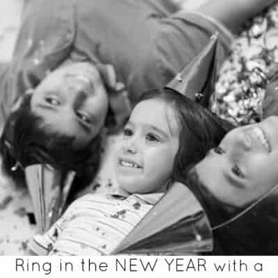 Ring in the New Year with a Preschool New Years Party
